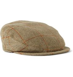 Shop mens shoes at MR PORTER, the mens style destination. Country Hats, Tie Accessories, Cap Dress, Flat Cap, Mr Porter, Hats For Men, Tweed, Man Shop, Men's Hats