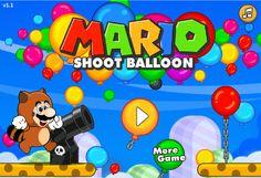 Ahora Mario tiene una misión en este juego donde necesita tu ayuda, es de hacer explotar el globo con los menores tiros posibles, cada nivel se pone mas complicado ya que se encontrara mas obstaculos.