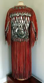 Native american Jingle Dress, the Silver you see are all Bells.
