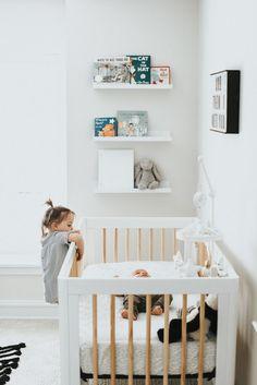 Mushybooks Baby Books look good on display in any nursery.