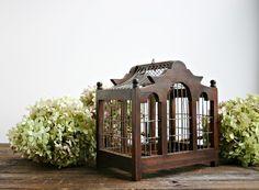 vintage bird cage Barn Wedding Decorations, Wedding Ideas, The Caged Bird Sings, Winter Garden, Garden Fun, Pet Cage, Bird Cages, Vintage Birds, Green Life