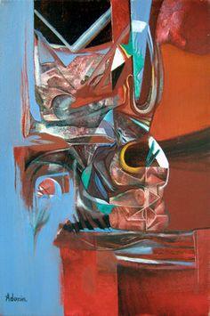 "Saatchi Online Artist Alexey Adonin; Painting, ""Grain"" #art"