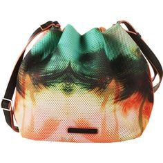 Umhängetasche mit Print - Lässige Umhängetasche in Rosa von Esprit. Die Tasche hat ein tolles Muster und einen Bucket-Look. - ab 49,99€