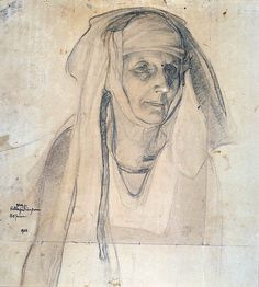 Henry Ossawa Tanner - maybe do a huge portrait of a nun?