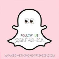 Benieuwd naar wat wij achter de schermen doen? Volg ons dan op Snapchat! Username: snfashion #SNFashion #somethingnewfashion #snapchat #follow #followus #backstage