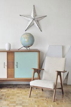 Le Vide Grenier d'une Parisienne : fauteuils scandinaves