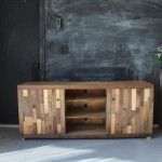Pallet Media Console and TV Stand