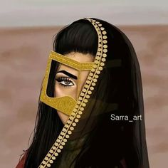 Image in GirLy drawing 🙆👯 collection by ⚘ on We Heart It Girly Drawings, Art Drawings, Girl Cartoon, Cartoon Art, Sarra Art, Arabian Art, Arabian Eyes, Arabian Beauty, Girly M