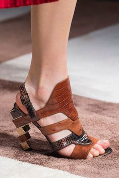 best shoes of the fall 2015 runways. Salvatore Ferragamo. Photo: Imaxtree
