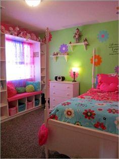 Little girl bedroom decor cute teen girl bedrooms girls bedroom Diy Little Girls Room, Cool Girl Rooms, Cute Girls Bedrooms, Room Decor For Teen Girls, Girls Bedroom Colors, Teenage Room, Kids Room, Trendy Bedroom, Bedroom Girls