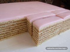 Rozen Torta (sa detaljnim postupkom za pravljenje kora) — Coolinarika