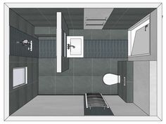 1000 images about badkamer on pinterest stackable washer and dryer toilets and met - Amenager badkamer ...