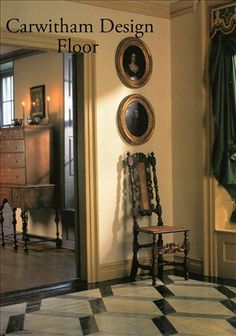 Decorating Galleries : Early American Floorcloths
