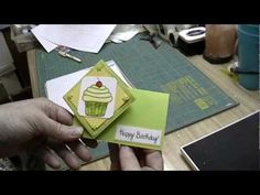 Tutorial: How To Make A Twist Turn Card. What a really simple & cute way to make a different style of card.