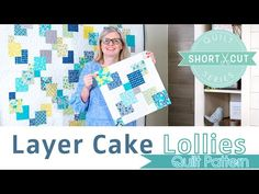 Quilting Tutorials, Quilting Projects, Quilting Designs, Sewing Projects, Sewing Ideas, Quilt Patterns Free, Pattern Blocks, Block Patterns, Layer Cake Quilts