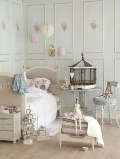 26 idées pour déco chambre ado fille - décoration-chambre-ado-fille-vintage