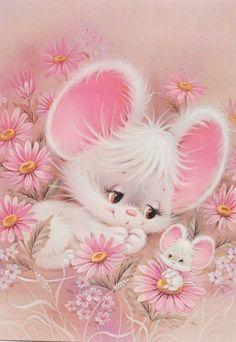 Vintage Mouse Art
