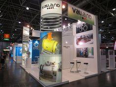 VALVE WORLD EXPO - Messe Düsseldorf. VALLAND. Ricerca, analisi, promozione e comunicazione. Progettazione e realizzazione dell'allestimento dello stand. Photo by honegger