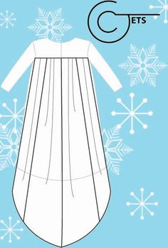 3T/4T Elsa Inspired Cape Sewing Pattern by CJets on Etsy, $5.00