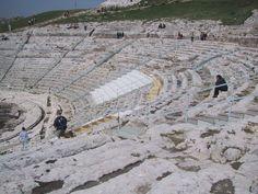 Greek theater in Syracuse