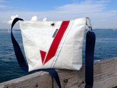 Kleine Segeltasche/Segeltuchtasche/Tasche Segel von Rough Element auf DaWanda.com