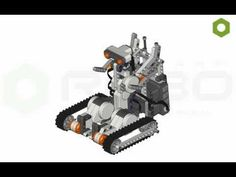 Transformers 3 LEGO Mindstorms NXT  - building instruction
