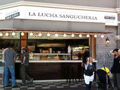 Sanguchería LA LUCHA, Lima