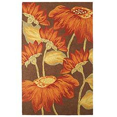 i love sunflowers <3 possible bedroom rug