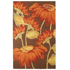 i love sunflowers <3 possible bedroom rug