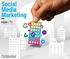 #Socialmediamarketing and #promotion offers a lot of #benefits to the #business #enterprises. To serve the needs of every business, #WebguruInfosystem gives you the opportunity to grow your #brand equity on #socialmedia #platforms using social media marketing and #optimization.   #socialmedia #socialmediaoptimization #socialmediamarketing  #socialmediabranding #socialmediaexpert #webguru Social Media Marketing Agency, Social Media Branding, Brand Promotion, Platforms, Opportunity, Business, Store, Business Illustration