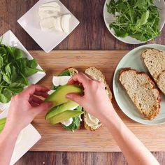 8 Simple Commonsense Cooking Tips Vegan Recipes, Snack Recipes, Cooking Recipes, Lunch Snacks, Healthy Snacks, Food Porn, Healthy Sandwiches, Diy Food, No Cook Meals