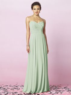 ♥weddingchicks  Gorgeous Dessy bridesmaids dress!