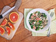 Winter Quinoa Salad with Fennel and Oranges | Oldways