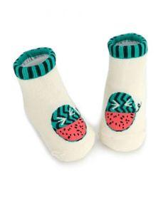 Happy Fruits Socks-KIDS CLARA #kid #kids #kidsfashion #instafashion #kidsclothing #kidswear #kidsstyle #kidslook #girllook #momlook #boylook #cute #beautiful #cutekid #baby #girl #girls #fashion #KIDSCLARA #Kfashion #Kfashion4kids  #kkami