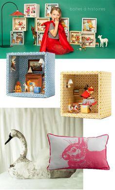 Idées déco pour les enfants, Ideas de decoración para los niños, Decoration ideas for children.