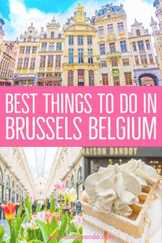 Going to Brussels? Use this guide to make sure you don't miss any of the best things to do in Brussels Belgium! Here's what you'll definitely want to see. restaurant food photography Brussels Belgium — Best Things To Do In The Capital Of Belgium Stuff To Do, Things To Do, Good Things, Brussel Sprouts Recipe Oven, Belgium Food, Travel Belgium, Europe Travel Tips, Travel Destinations, Traveling Europe