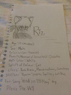 One of my three Neko OCs. Riz also lives my other two OCs Dakota and Setaza.