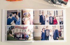 Wedding album created with kikki.K Wedding Photobook - great layouts