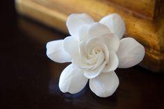 The Original Gardenia Hair Flower $25.00, via Etsy.