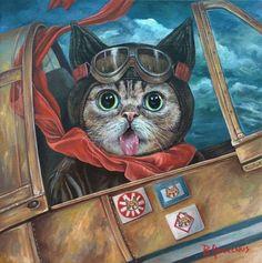 Lil Bub Art Show