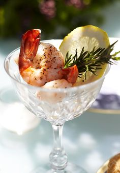 rosemary seasoned shrimp cocktail....