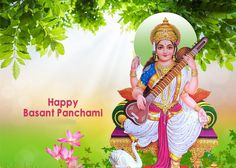 Vasant Panchami is a religious #Hindufestival of #Saraswatipuja also called as Shree #Panchami. This year #VasantPanchami will be celebrated on 1st February.