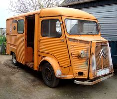 with a little help from my friends Citroen H Van, Gmc Trucks, Old Cars, Motorbikes, Classic Cars, Automobile, Vans, Food Truck, Street Food