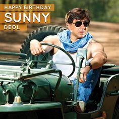 Here's wishing the man with the Dhai Kilo Ka haath aka Sunny Deol a very Happy Birthday!