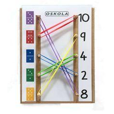 OBRÁZKOVÁ ŠKOLA   GeoDuo   Příklady 1-10 - předloha GeoDuo   Didaktické pomůcky a hračky - AMOSEK