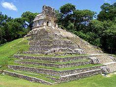 Templo maya en Palenque