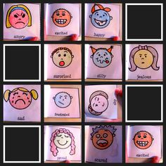 Mrs. Marcy's Preschool: Feelings Theme books include The Way I Feel