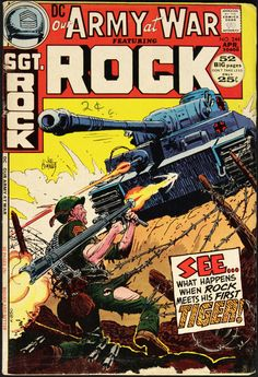 Our Army At War 244 - Sgt. Rock - Kubert