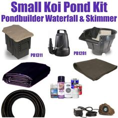 """10 x 15 Small Koi Pond Kit 3,200 GPH Pump Pondbuilder 14"""" Crystal Waterfall & Pondbuilder 8"""" Crystal Skimmer SP4 by Patriot. $652.50. FedEx Ground - Additional Carrier Charges May Apply. Liftgate Service is Not Included. Contact Carrier For Liftgate Service Which Is An Additional $85.00. 1½"""" x 25' Kink Free PVC Hose, (1) 20 Watt Rock Lights with 20 Watt Transformer, All Installation Hardware & Directions. 10 x 15 EPDM LifeGuard Liner (lifetime warranty-25 Years) and 150 Square..."""