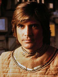 Lt. Starbuck, played by Dirk Benedict - Original Battlestar Galactica